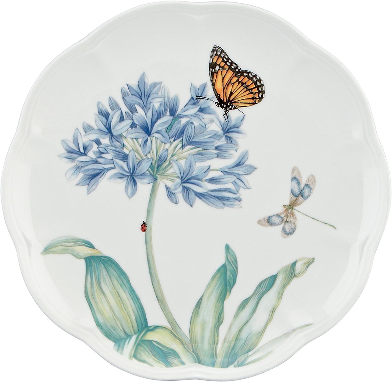 Lenox Butterfly Meadow Blue Butterfly Accent Plate