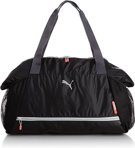 Puma Damen Tasche Fit at Workout, BlackPeriscopeCayenne
