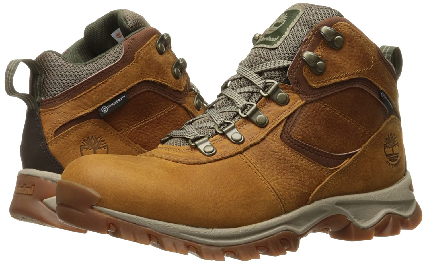 Timberland Mens Mt Maddsen Mid Leather Wp Winter Boot