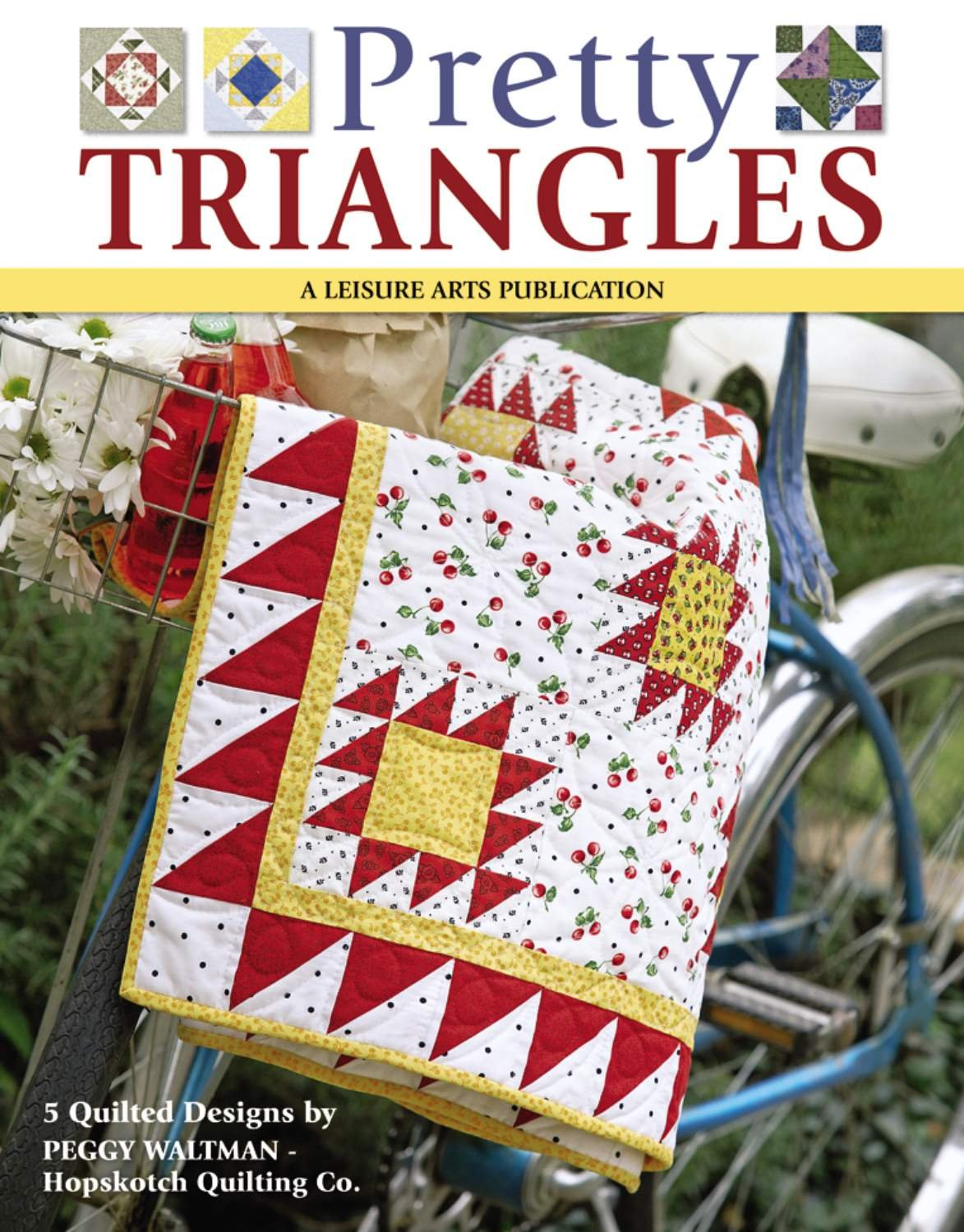 Pretty Triangles (Leisure Arts #4353): Peggy Waltman: 9781601404428:  Amazon.com: Books
