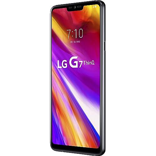 LG G7 ThinQ LMG710EM 15 5 cm 6 1 4 GB 64 GB 4G Negro 3000 mAh Smartphone 15 5 cm 6 1 4 GB 64 GB 16 MP Android 8 0 Negro