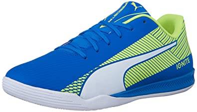 024368d67 PUMA Men's Evospeed Star s Ignite Soccer Shoe Electric Blue Lemonade 7 ...