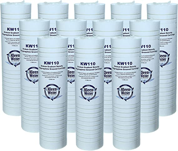 P5A Also Compatible with Aqua-Pure AP110 /& AP110-NP IPW Industries Inc Sediment Water Filter Cartridge Compatible with P5-D Whirlpool WHKF-GD05 and Dupont WFPFC500; Set of 4 Filters GE FXUSC