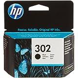 HP 302 Black Original Ink Cartridge - Cartucho de tinta para impresoras (Negro, Estándar, 3,5 ml, 20 - 80%, -40 - 60 °C, 15 - 32 °C)