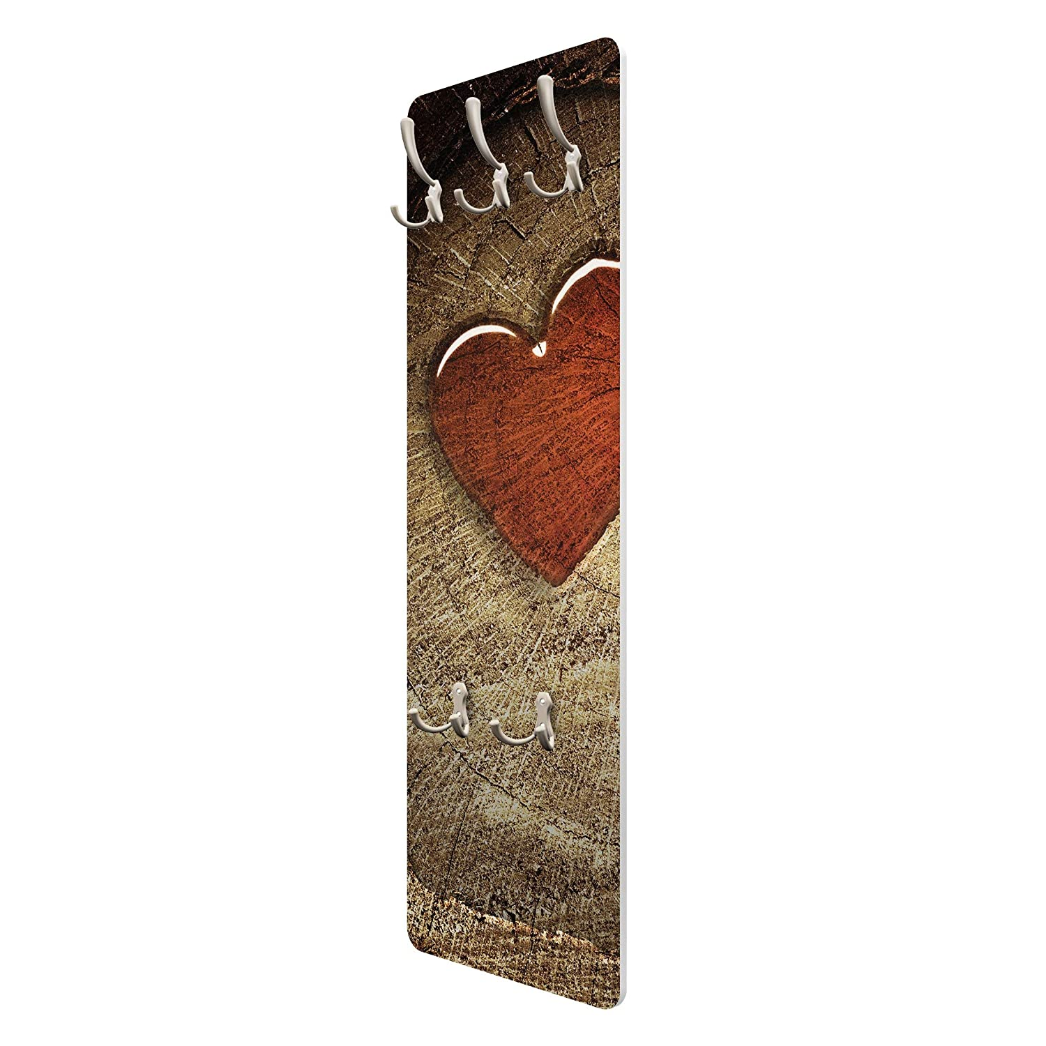 Apalis 72999 - Perchero de Pared Natural Love, 139 x 46 cm ...