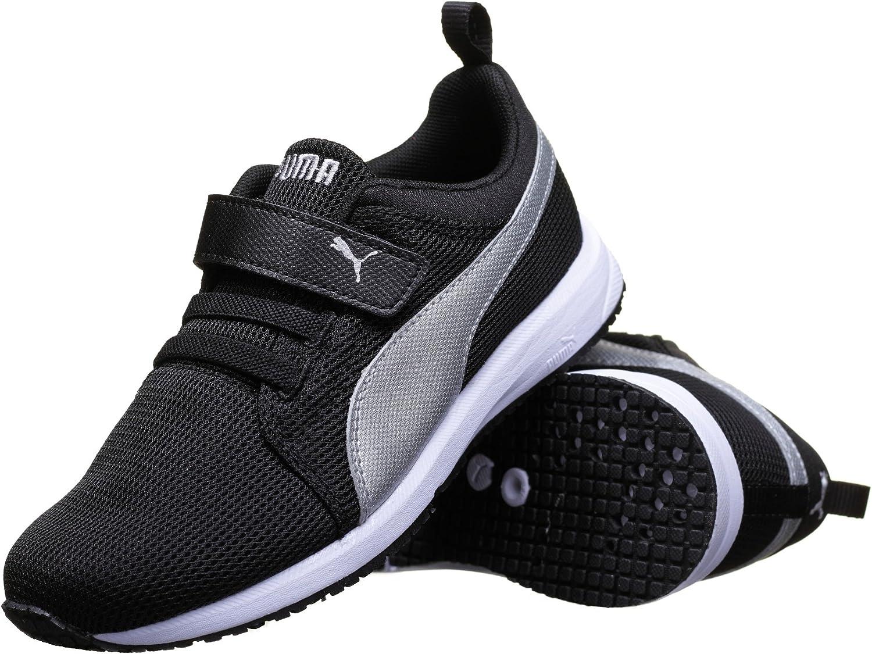Puma - Zapatillas de deporte Carson para niños unisex, Negro (negro), 34 EU: Amazon.es: Zapatos y complementos