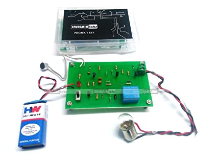 INSIGNIA LABS - CLAP SWITCH BASED LIGHT/BULB CONTROL KIT PROJECT ...