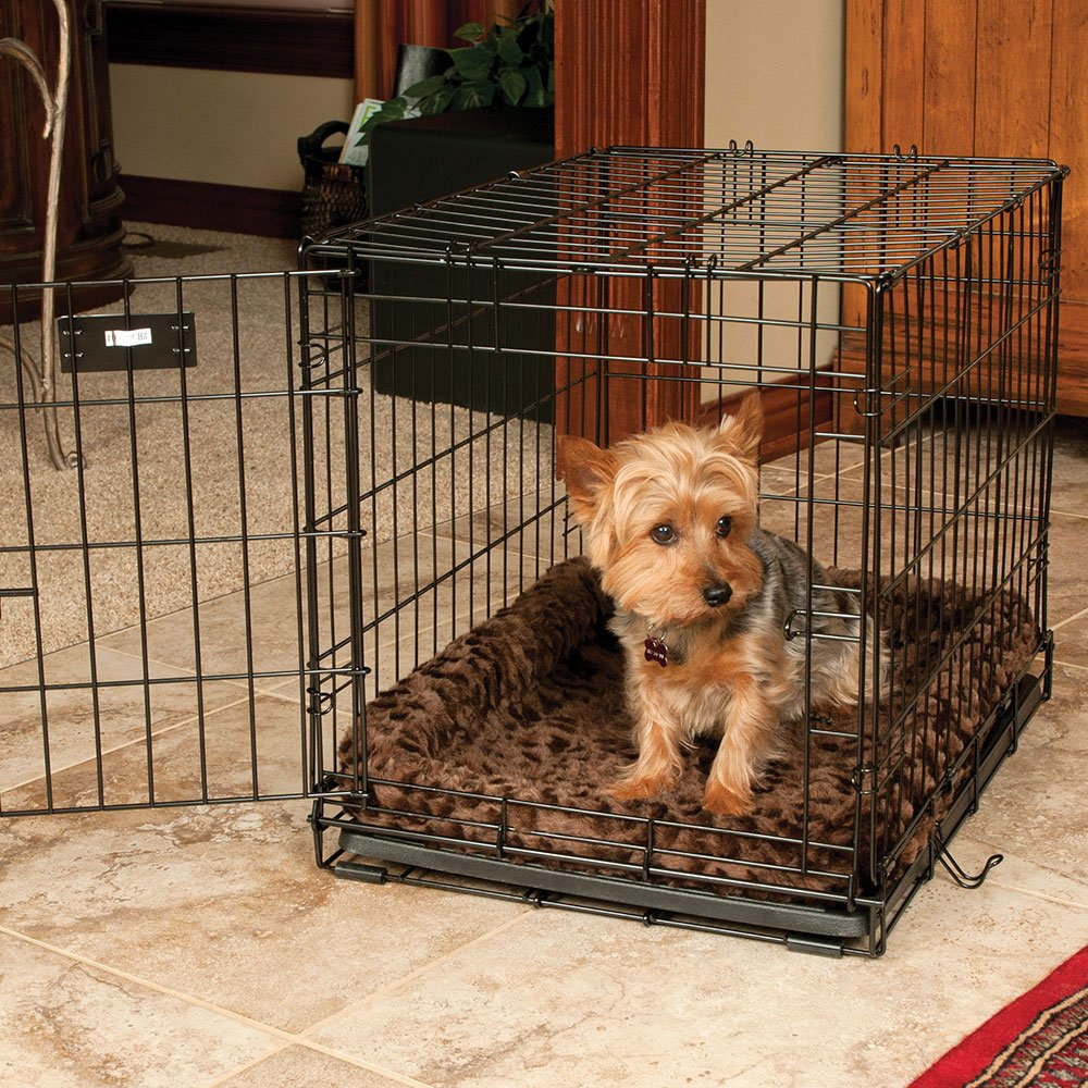 Brown 51in x 33in Brown 51in x 33in Snoozzy Cozy Crate Bed Natural 51  x 33
