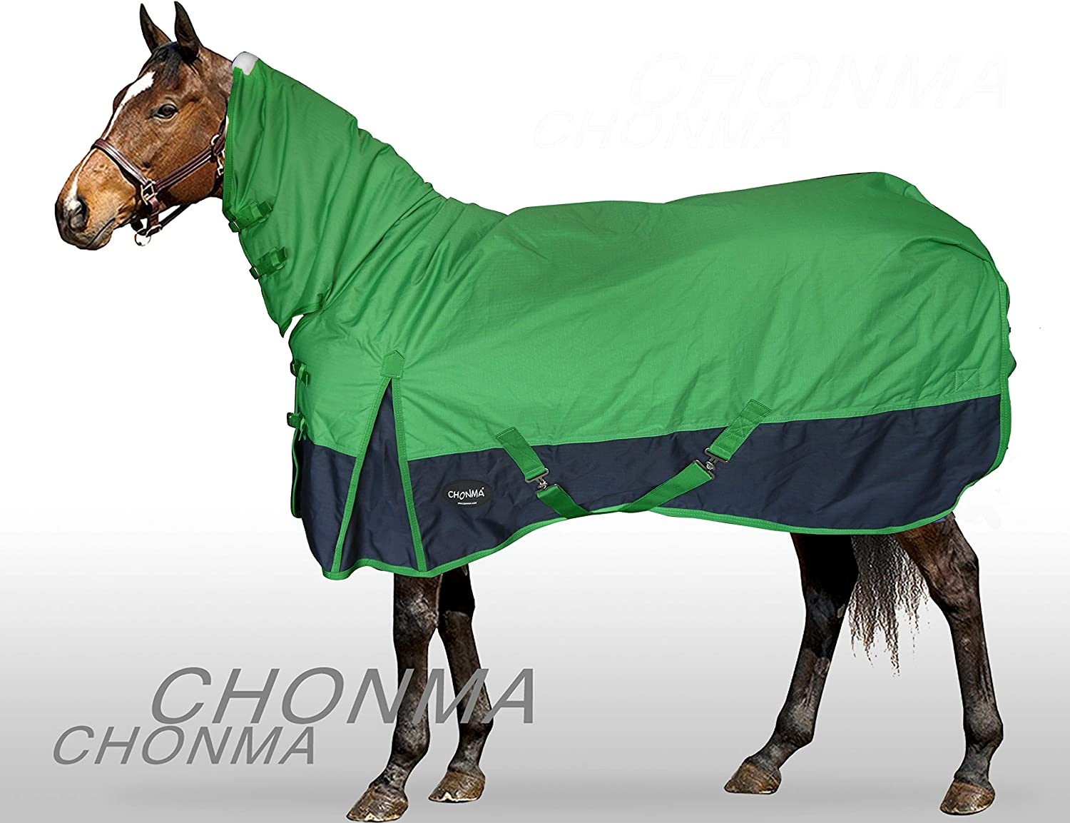 Combo Horse Rug Water resistant Super Strong 440GSM Cotton Rug Double Ripstop