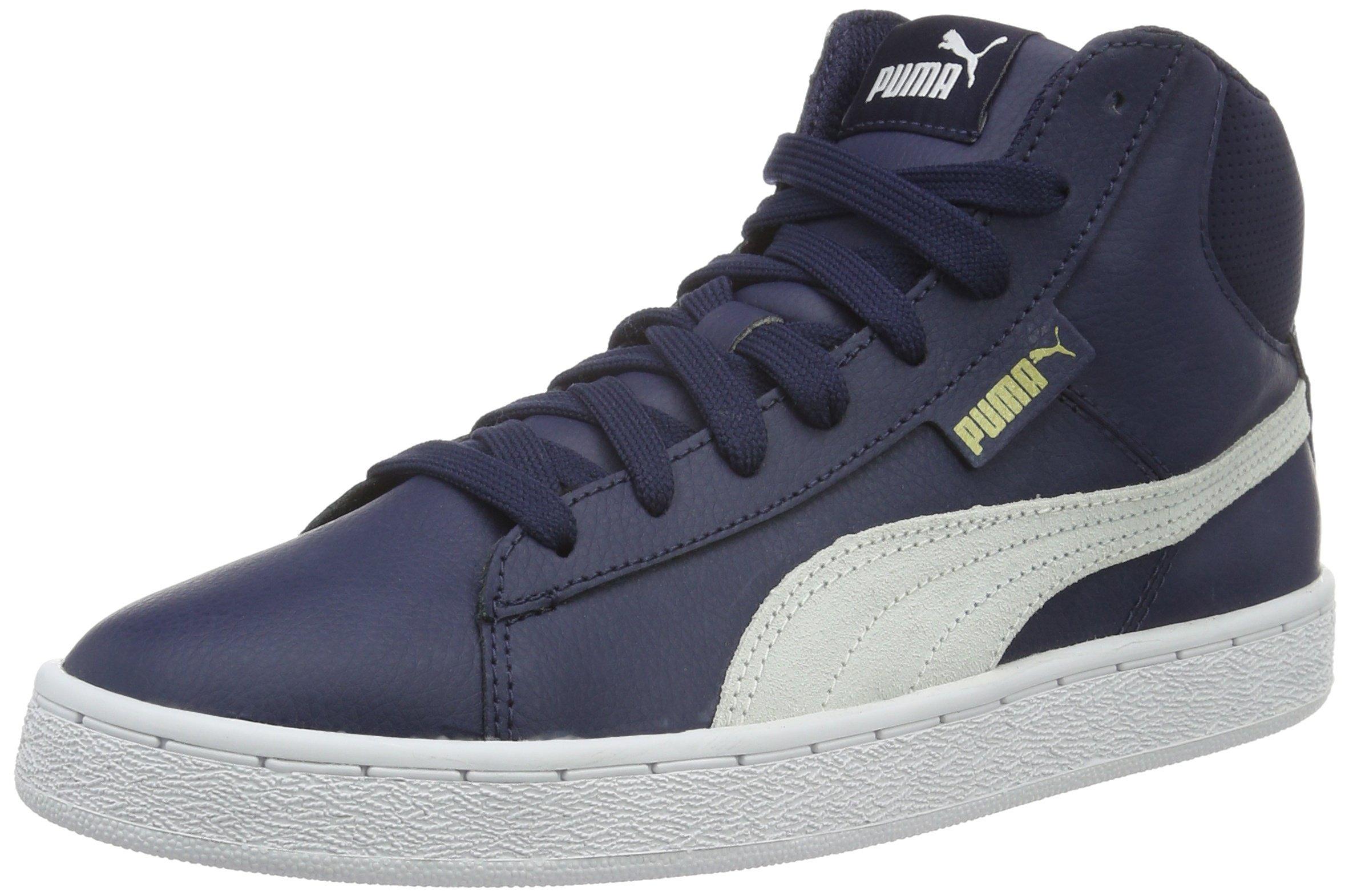 PUMA 1948 Mid L, Unisex Adults' Low-Top Sneakers, Blau (Peacoat White 04), 5.5 UK