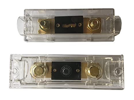 ANL Fuse Holder 1 Pack KOLACEN ANL Gold Plated Fuse 300 Amp