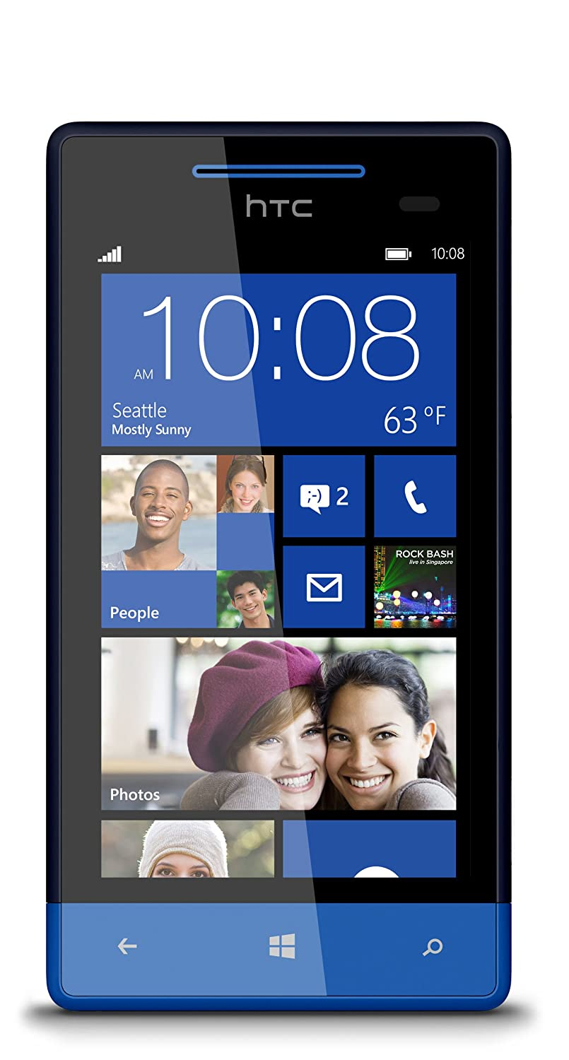 Smartphone HTC WINDOWS PHONE 8S JAUNE 4GO
