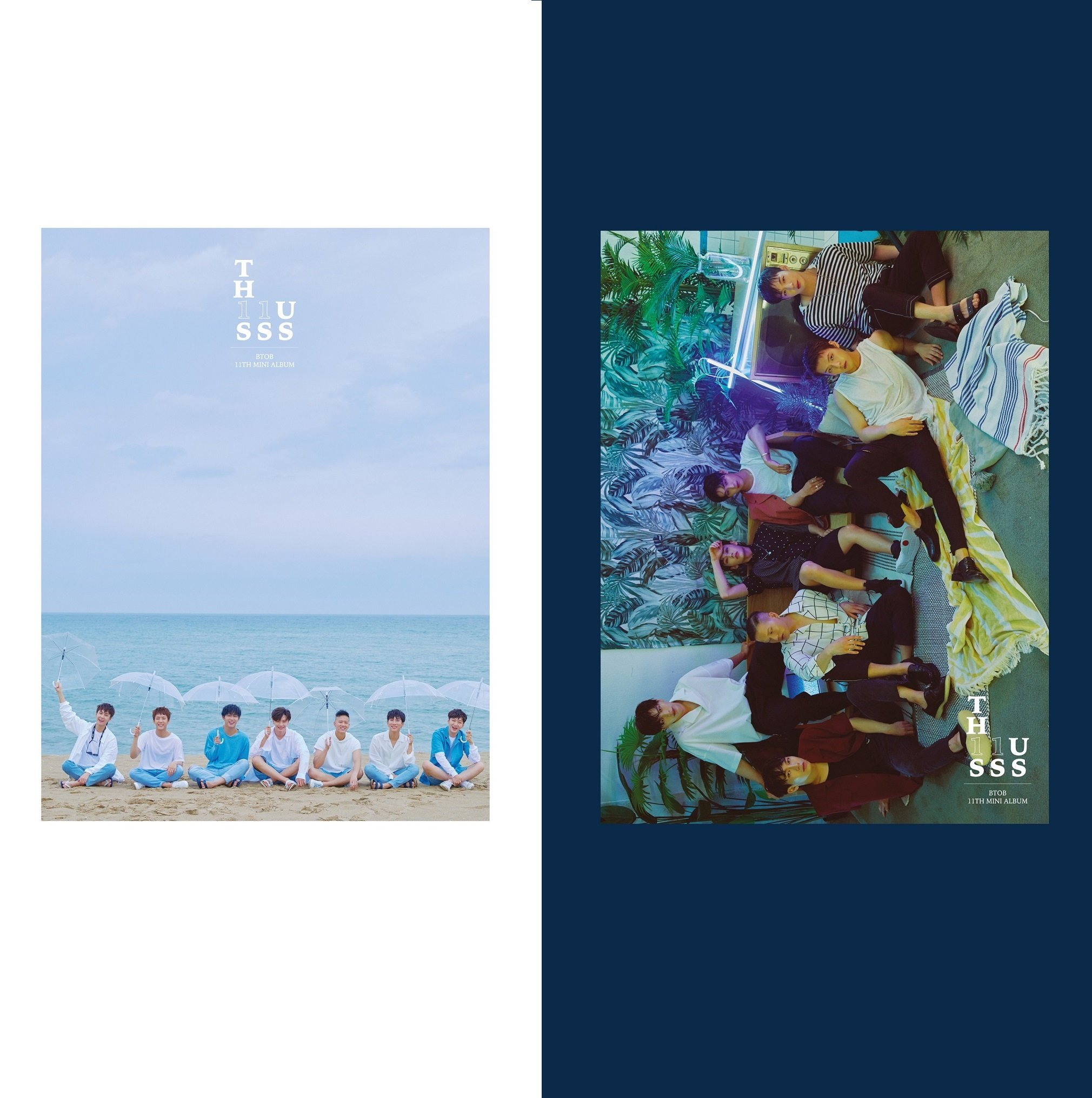 Cube Entertainment BTOB - THIS IS US [SEE+FEEL ver. SET] (11th Mini Album) 2CD+Booklet+3Postcards+Photocard+Bookmark+Event Ticket+2Folded Poster+Free Gift