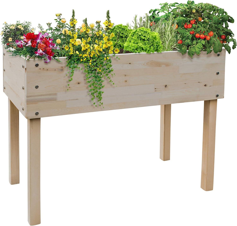 Cypress Raised Garden Planter Kit (24