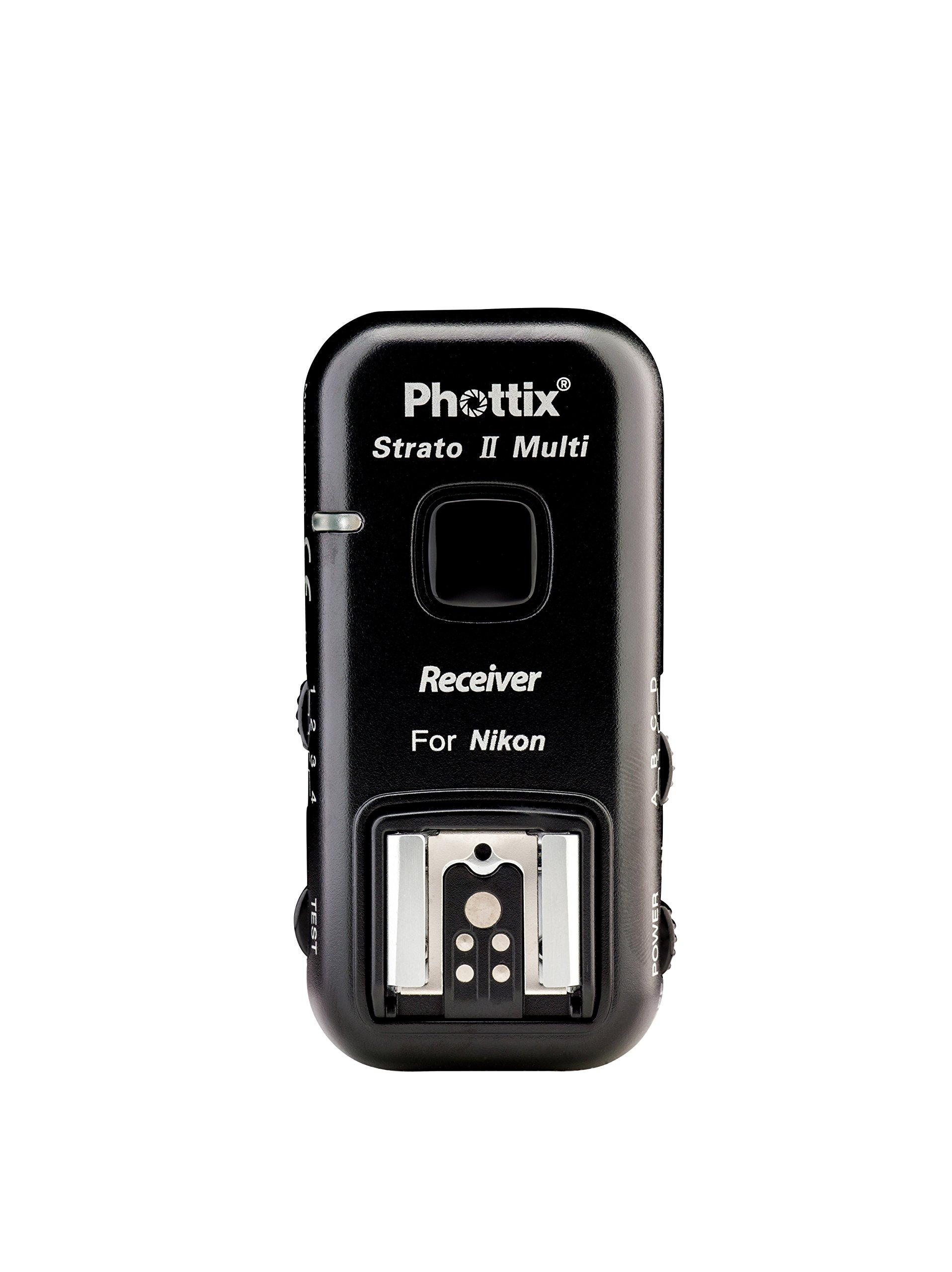 Phottix Stratos II Multi 5-In-1 Nikon Receiver by Phottix
