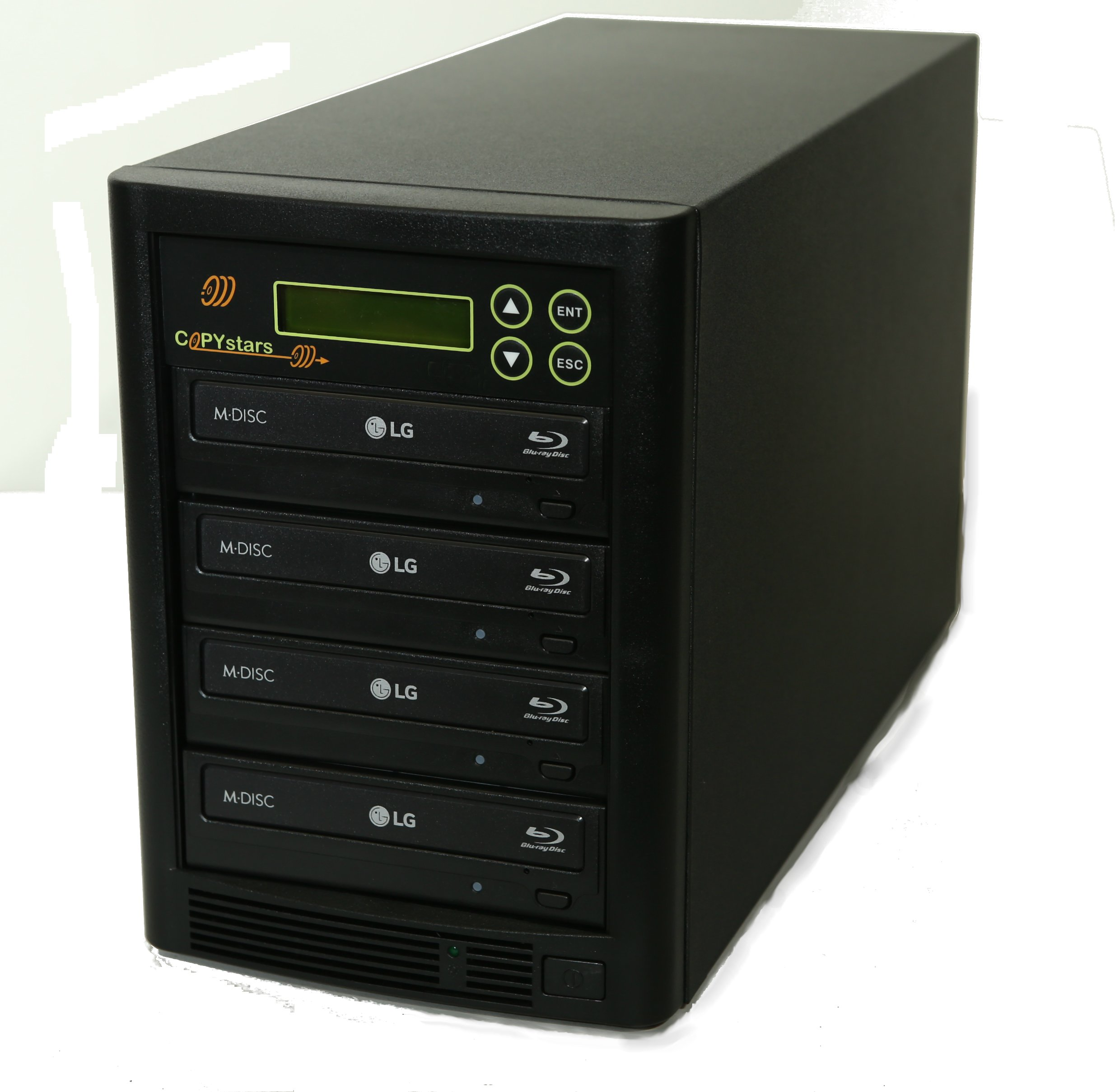 Copystars Blu-Ray-dvd-duplicator-tower USB to ISO 1 TB hard drive 4 BDXL burner-drive CD DVD copier