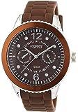 Esprit Damen-Armbanduhr 304 STAINLESS STEEL Analog Quarz Resin A.ES105332016