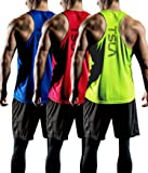 TSLA Men's (Pack of 1 or 3) Workout Cool Dry
