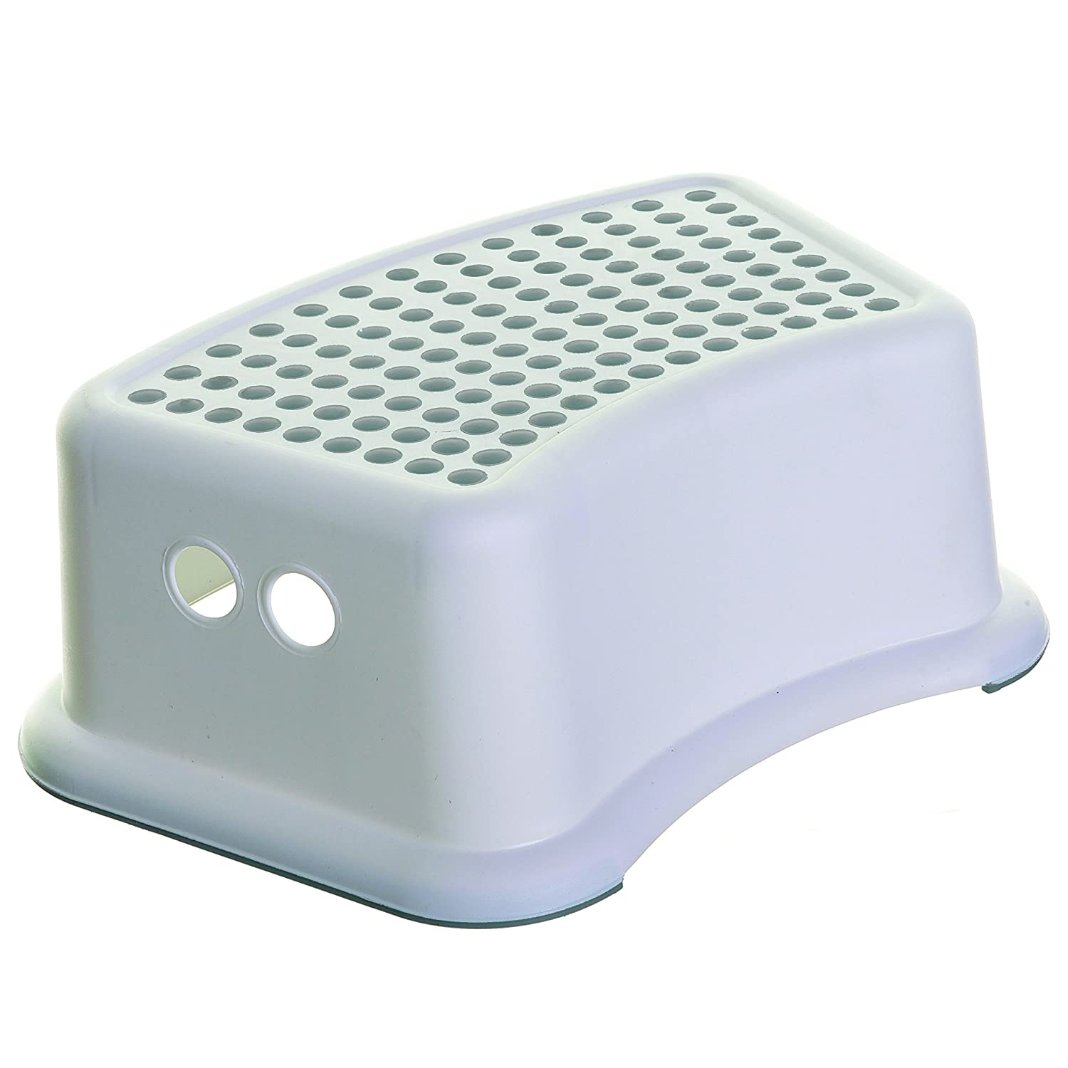 Dreambaby Step Stool , White/Aqua