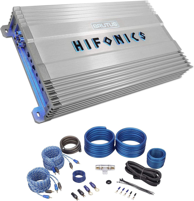 Hifonics BG-1000.4 Brutus Gamma 4 Channel Super A/B Class 1000 Watt Car Audio Sound System Subwoofer Speaker Amp Amplifier
