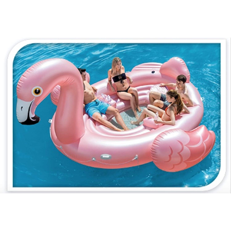 AiO-S - OK XXL Flamingo Hinchable Gigante colchón de Aire para ...