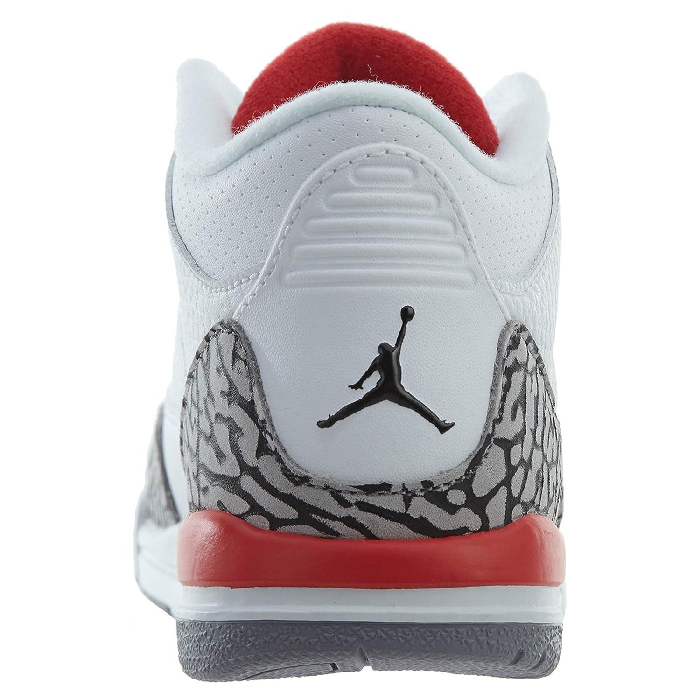 low priced dc59b e9676 Amazon.com   Nike Kids Jordan Retro 3