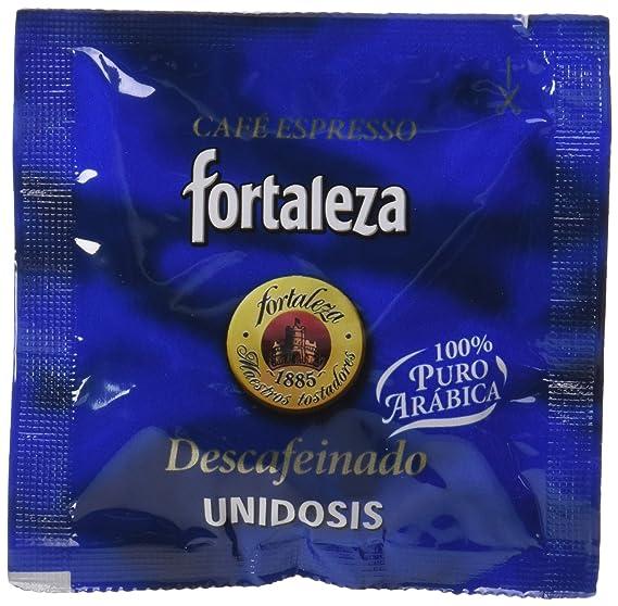 Café FORTALEZA - Cápsulas de Café Descafeinado Sistema ESE 44 - Pack 1 x 25 -
