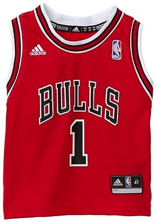 newest 6abc5 5d22f Amazon.com : NBA Toddler Chicago Bulls Derrick Rose Away ...