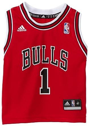 NBA Toddler Chicago Bulls Derrick Rose Away Replica Jersey - R24E6Bb5 (Red,  2T)