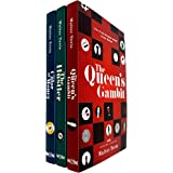 The Queen's Gambit Series 3 Books Collection Set by Walter Tevis (The Queen's Gambit, The Hustler & The Color of Money) NETFL