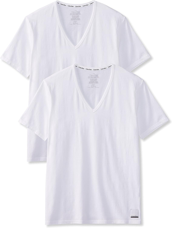 Calvin Klein Camiseta (Pack de 2) para Hombre: Amazon.es: Ropa y accesorios
