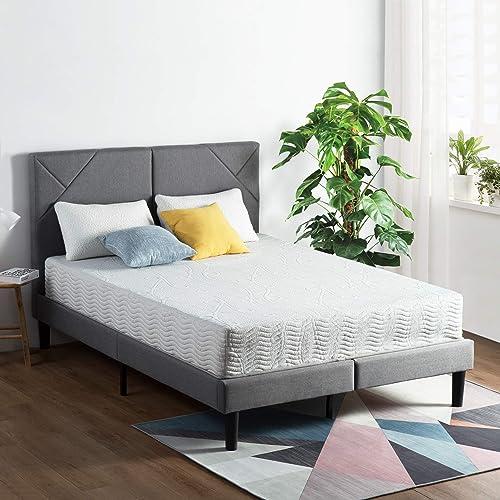 SLEEPLACE 10 Inch Encased Coil Hybrid Spring Mattress OM02 King