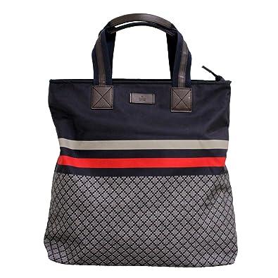 gucci tote. gucci blue unisex diamante tote travel bag 268112 g