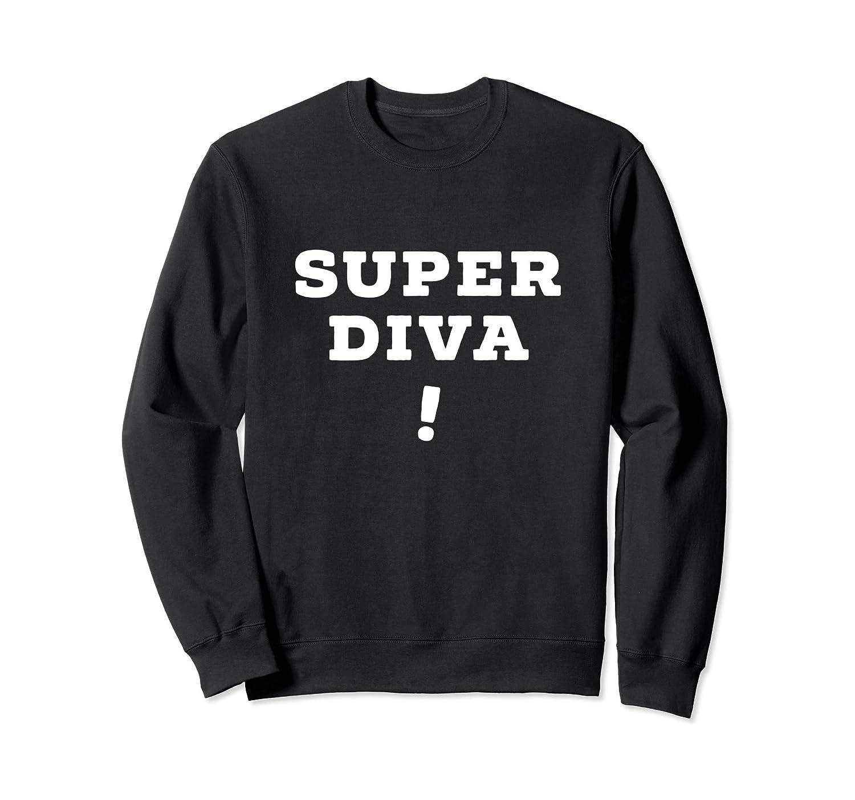 Super Diva Sweatshirt | Ruth Bader Ginsburg-fa