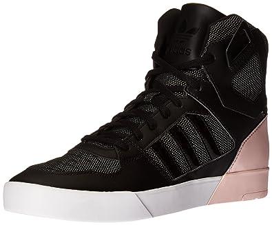 adidas Originals Womens Zestra w Fashion Sneaker       Black Black Halo Pink  S16