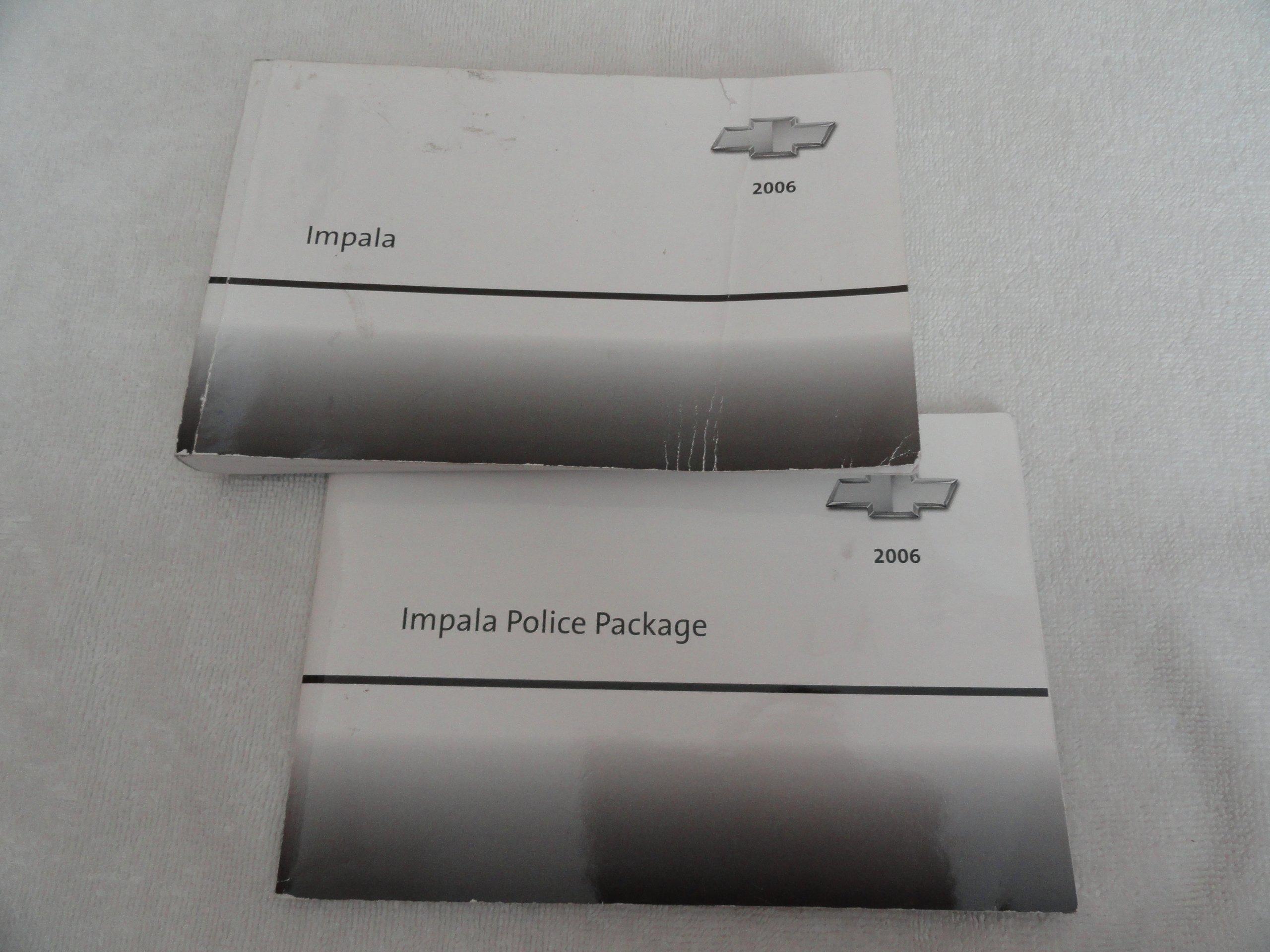 2006 chevrolet impala owners manual chevrolet amazon com books rh amazon com 2015 Chevrolet Impala 2018 Chevrolet Impala