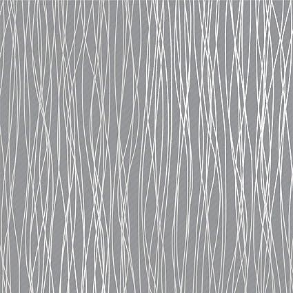 Mavee Non-Woven 3D Wallpaper, 20.8In x 32.8Ft Modern Print Embossed ...