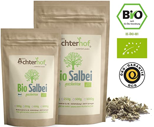 Prächtig Salbeitee Bio lose (500g) Salbeiblätter getrocknet Salbei Blätter #BH_68