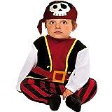 My Other Me Me-200567 Disfraz de bebé pirata para niño 7-12 meses Viving Costumes 200567