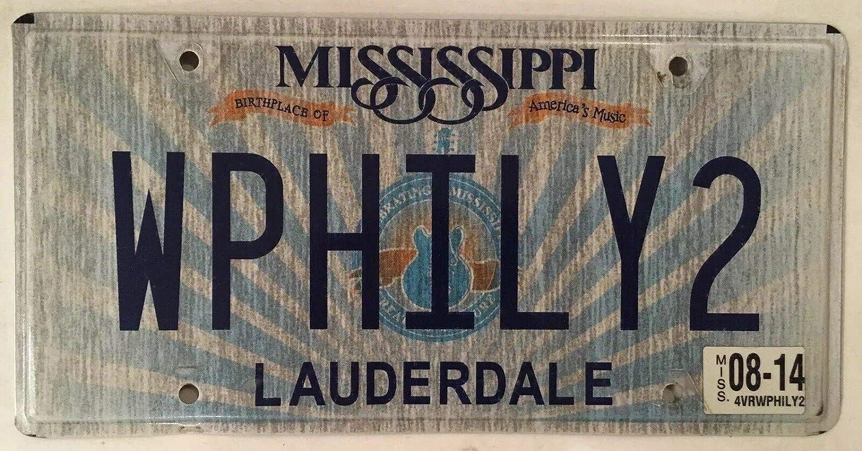 TammieLove Plaque dimmatriculation de Philadelphie Fond de Plaque dimmatriculation Fantaisie 15 x 30 cm Pennsylvanie