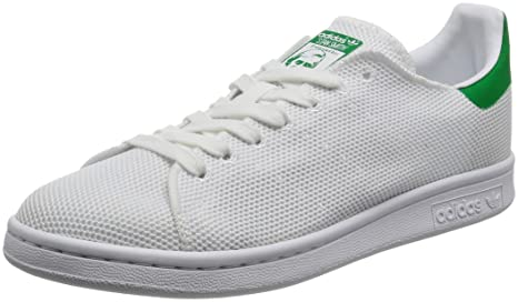 adidas Stan Smith Unisex Trainers White Green - 3.5 UK