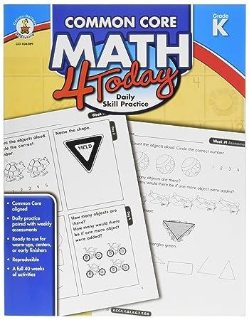 Amazon.com: Carson Dellosa Common Core 4 Today Workbook, Math ...