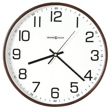 Amazon Com Howard Miller Kenton 13 Wall Clock Mil625560 Office