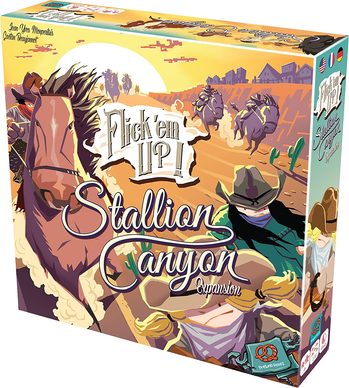 Asmodee - FIFLI02 - Flick'em Up - Expansion Stallion Canyon