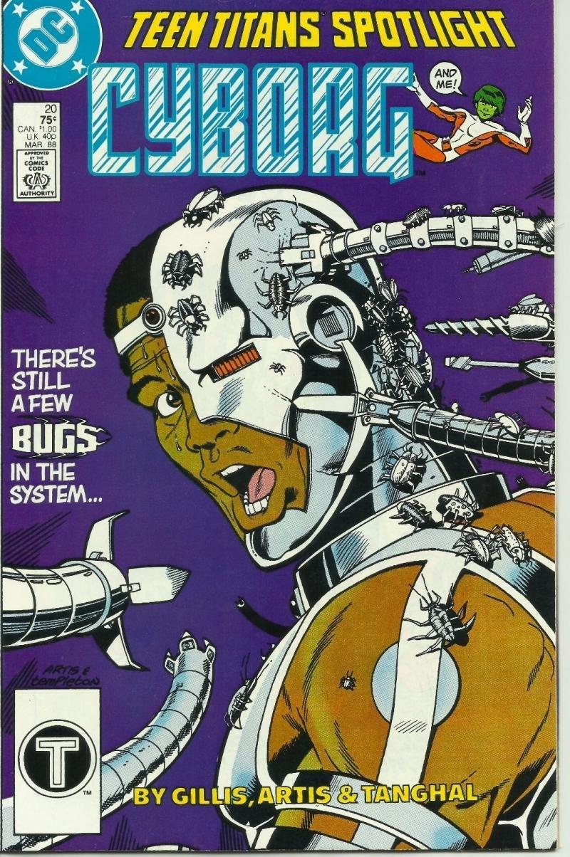 TEEN TITANS SPOTLIGHT #20, VF/NM, Cyborg, DC 1986 1988 more DC in store