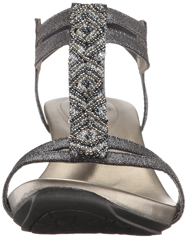 Bandolino Women's Hippo Wedge Sandal US|Storm B01MD11ZXP 7 B(M) US|Storm Sandal f90305