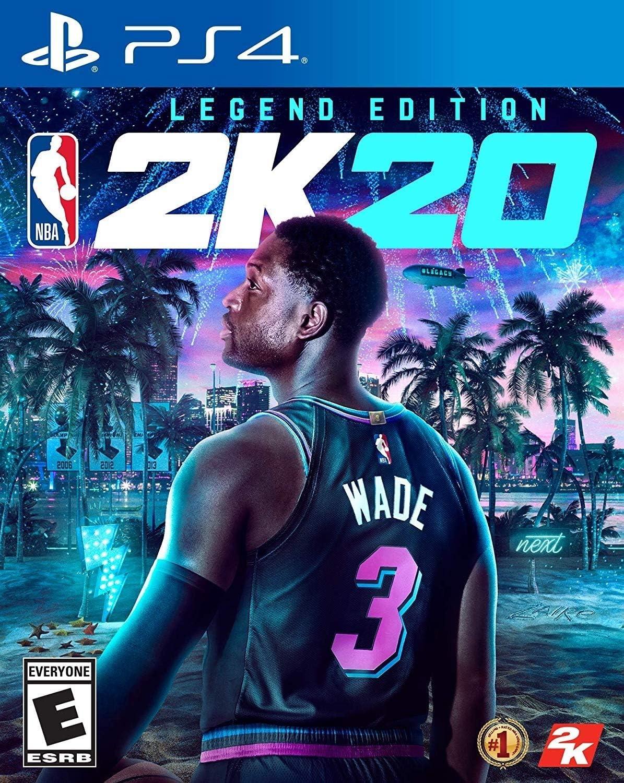 Amazon Com Nba 2k20 Legend Edition Playstation 4 Take 2