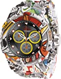 Invicta Men's Quartz Watch with Stainless Steel Strap, Multicolor, 35 (Model: 30065)
