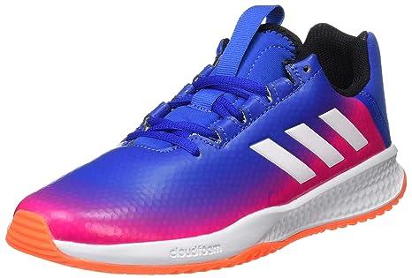 Adidas Rapidaturf Messi K Zapatillas, Unisex Niños, (Azul/ftwbla/Narsol)