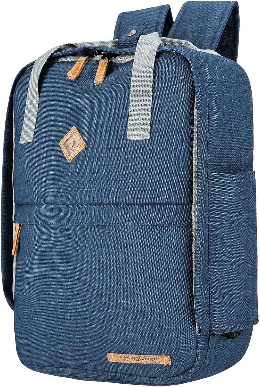 KingCamp Waterproof laptop backpack 17.3 inch for Women /& men School Backpack